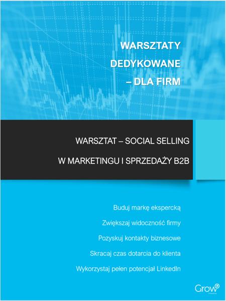 Warszataty Social Selling dedykowane dla firm B2B